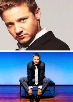 """I'm happy with the flaws that I have."" — Jeremy Renner"