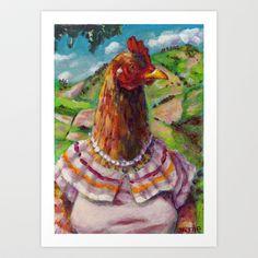 """La Jíbara"" art print by Vanessa Flores - $18.00"