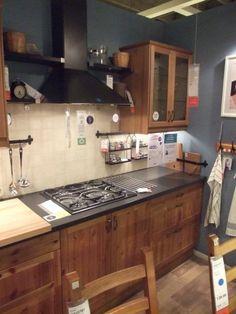 Wnętrza, kuchnia w planie - witam :) jestem na etapie urządzania domu i to - jak na razie - mój najmocniejszy kandydat na kuchnię. Aranżacja ze sklepu ikea, fronty... Ikea, Kitchen Cabinets, Rustic, Google, Home Decor, Country Primitive, Decoration Home, Ikea Co, Room Decor
