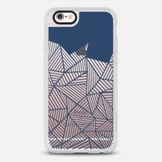 Abstract Mountain Navy Transparent - New Standard Case