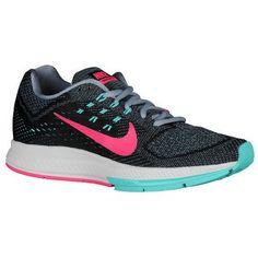 big sale 7b9f2 9822e Nike Air Zoom Structure 18 Women Running Shoes Magnet Grey Black Hyper Jade