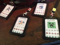 Video Game Tournament Party Badges