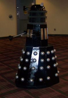 Build a DIY white dalek comic con halloween costume for child ...