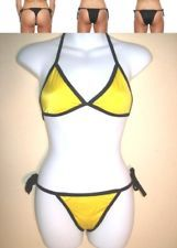 Bikini 2 piece yellow women swim suit Hand made in Bali $10.80 Free Shipping. Accessorizing is very important for Your Personal Style! Island Heat Products www.islandheat.com today's clothing Fashions and Home Goods with Great Family Gift Idea's.