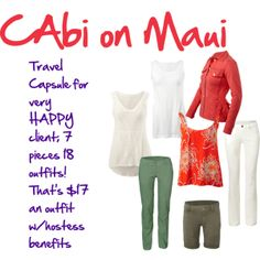 """""""CAbi Goes to Maui"""" by stylebymichele on Polyvore"""