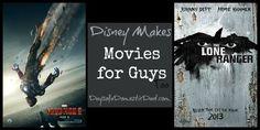 #Disney Makes Movies for Guys Too #IronMan3 #LoneRanger