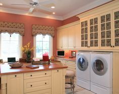 laundry room designs | Country Laundry Room Decorating Ideas