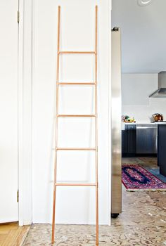 DIY Copper Pipe Ladder | brittanyMakes