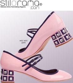 Editor's Pick Miu Miu's Crystal Pink Mary Jane Pumps