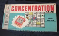 Concentration - 3rd Edition