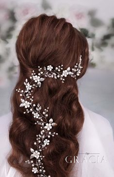 wedding wire bridal hair vine