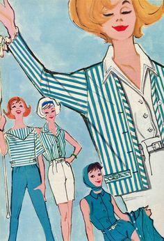 Seventeen Magazine, Illustrators, 1950s, Disney Characters, Fictional Characters, Disney Princess, People, Photography, Beautiful
