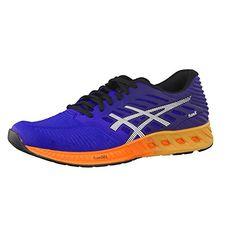 Asics Herren Laufschuhe fuzeX T639N Asics Blue/Indigo Blue/Hot Orange 40 - http://uhr.haus/asics/40-eu-asics-herren-fuzex-blau-bindigoblau-gr-44-5-45