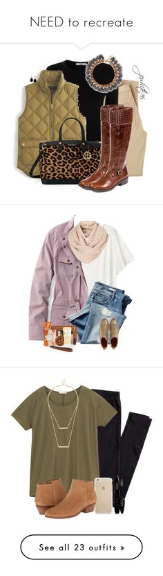 """""""NEED to recreate"""" by mgally29 ❤ liked on Polyvore featuring Castañer, Oasis, J.Crew, Henri Bendel, Me Too, Effy Jewelry, H&M, L.L.Bean, Gap and Tory Burch"""