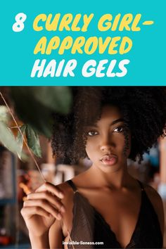 Looking for a hair gel that's approved for the curly girl method? This list of gels has something for everyone: from kinky curls to wavy hair! Diy Hair Care, Curly Hair Care, Hair Care Tips, Wavy Hair, Long Hair Tips, Grow Long Hair, Easy Hairstyles For Long Hair, Vitamins For Hair Growth, Hair Vitamins