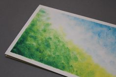 Hand painted greeting card Abstract Art  Color's by Abicartes, €10.00