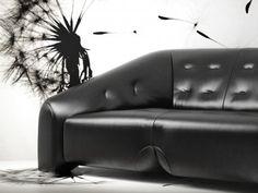 Designed by de Cotiis, Vincenzo. Produced by Design Connected. Vincenzo De Cotiis, Basic Geometry, Saddle Leather, 3d Artist, Cinema 4d, All Design, Couch, Architecture, Model