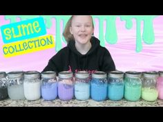 today I show you all how to make orbeez slime, fishbowl slime, and floam! Orbeez Slime, Slime Containers, Putty And Slime, Sumo, Slime And Squishy, Slime Recipe, Creative Play, Summer Fun, Crafts For Kids