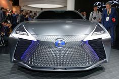 [拡大画像]【東京モーターショー2017】レクサス、自動運転レベル4に向けた新コンセプトカー「LS+ Concept」披露 Lexus Lc, New Lexus, Automotive Design, Car Detailing, Exotic Cars, Concept Cars, Luxury Cars, Detail Design, Exterior Lighting