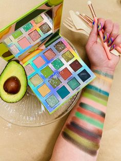 Colourpop Eyeshadow Palette, Eyeshadows, High End Makeup Brands, Hello Kitty Makeup, Makeup Pallets, Bh Cosmetics, Eyeshadow Looks, Weekend Vibes, Avocado Toast
