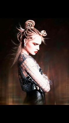 The Virago Collection by Ben Driscoll-Price (BHA Hairdresser of the Year 2015 Finalist)