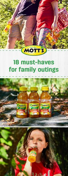 When it comes to fun summer activities, a road trip is always a good idea! Check out this list of 18 Must-Haves for a Family Day On-the-Go to make sure you have everything you need to keep your kids entertained and happy. From sunscreen to Mott's® 100% Apple Mango Juice, this guide for traveling with kids is full of genius ideas. Plus, find everything you need for your next adventure at Dollar General.