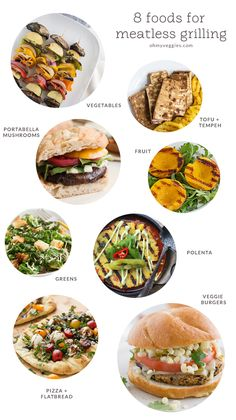 8 Foods for Meatless Grilling - Like the sound of the Bahn Mi sandwhich. Grilling is for vegetarians too! Our guide to vegetarian grilling gives tips on how to grill without the meat, plus over 40 recipe ideas. Vegetarian Grilling, Grilling Recipes, Vegan Vegetarian, Vegetarian Recipes, Cooking Recipes, Healthy Recipes, Grilling Ideas, Healthy Grilling, Barbecue Recipes