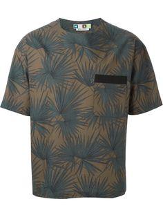 Msgm Camiseta Con Estampado De Cáñamo - Suit - Farfetch.com