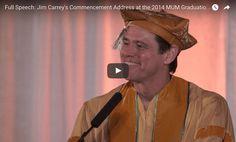 Jim Carrey Commencement Speech: Full Video & Transcript