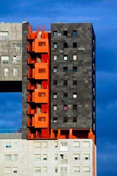 Madrid new architecture - Social housing (MVRDV & B. Lleó). For more design news check out: http://www.bocadolobo.com/en/