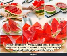 Refreshing Watermelon Jello Shots for You to Try Watermelon Jello Shots, Watermelon Slices, Food Crafts, Diy Food, Snack Recipes, Dessert Recipes, Cooking Recipes, Healthy Snacks, Healthy Recipes
