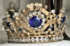 Gorgeous antique French crown