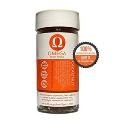 Omega Seed Spice Seedbased Superfood Sweet Cacao Seasoning  Nutritionpacked Flavor  High In Protein Fiber Essential Vitamins Minerals  Amino acids ** You can find out more details at the link of the image.Note:It is affiliate link to Amazon.