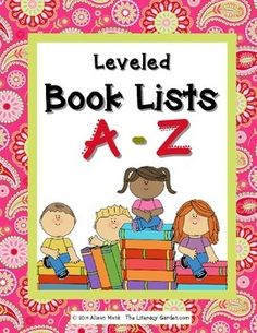 This resource includes titles of books listed by their guided reading level.  Parents and students have a guide to help them find appropriate titles. They can take them to the library, or use them at home searching for e-books.  Hundreds of titles are listed from A-Z by their guided reading level.