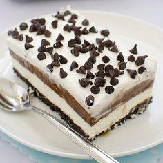Decadent chocolate dessert - Chocolate Lasagna