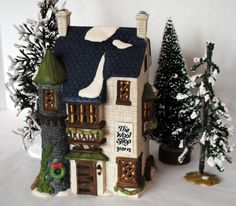 "Department 56 Dickens' Village Series  ""THE WOOL SHOP""  59242 on Etsy, $39.95"