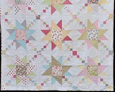 Spring in Hanover Quilt Pattern | This quilt pattern is inspired by springtime in Germany!