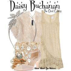 Inspired by Carey Mulligan as Daisy Buchanan in 2013's The Great Gatsby.
