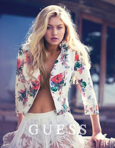 Gigi Hadid returns as the face of Guess for Spring 2015. See the whole campaign here!