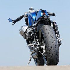 The Real Deal: Radical Guzzi's 130-horsepower cafe racer - Bike EXIF