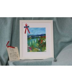 """""""A day in Sligo"""", is a limited edition signed art print by Vera Gaffney. The original painting was inspired by the rugged, remote and beautiful Atlantic coastline of Sligo. Social Media Pages, Print Artist, Framed Art Prints, Landscape Paintings, Original Paintings, Signs, Cats, Remote, December"""