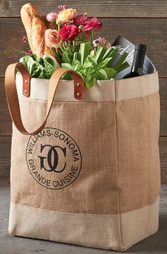 sturdy reusable market tote