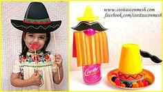 Botellas decoradas para una fiesta mexicana