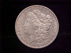 1903 s Scarce Date Morgan Silver Dollar $1 Nice XF Coin Great Detail | eBay