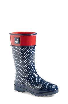 Too cute! Sperry rain boots for kids!
