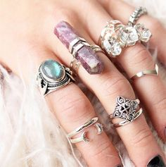 Magical treasures from our Supernova collection in store now! Stack them up! at Shop Dixi