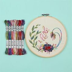 Embroidery Pattern: Be Wild Embroidered Project