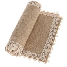 Ling's moment Inch Burlap Cream Lace Hessian Table Runners Jute Spring Easter Decor Rustic Country Barn Wedding Party Decoration Farmhouse Decor (Various Size Available) Hessian Table Runner, Burlap Table Runners, Farmhouse Table Runners, Farmhouse Chairs, Lace Runner, Vintage Decor, Rustic Decor, Rustic Barn, Rustic Dresser