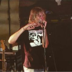 Kurt Cobain Sonic Youth shirt
