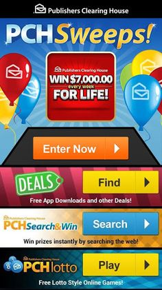 Enter to Win Publishers Clearing House Sweepstakes - Bing images Instant Win Sweepstakes, Online Sweepstakes, Wedding Sweepstakes, Travel Sweepstakes, Win Online, 10 Million Dollars, Win For Life, Publisher Clearing House, Winning Numbers